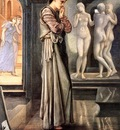 Edward Burne Jones Pygmalion, The Heart Desires, De