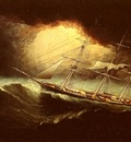 Buttersworth James E Ship In A Storm