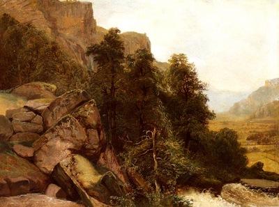 calame alexandre landschaftsstudie