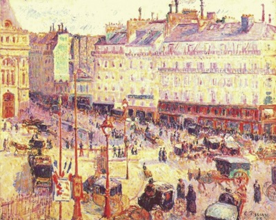 pissarro the place du havre, paris