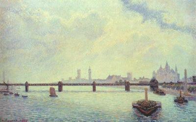 pissarro charing cross bridge, london