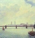 pissarro charing cross bridge, london