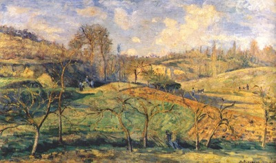 pissarro march sun pontoise