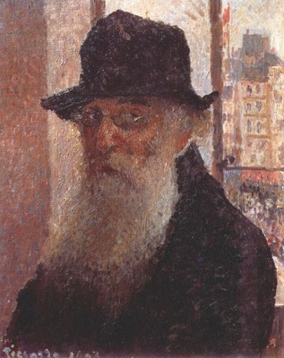 pissarro self portrait