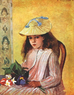 pissarro the artists daughter