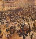 pissarro boulevard des italiens, paris morning sunlight