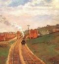 pissarro lordship lane station, dulwich