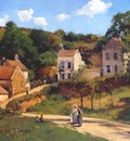 pissarro the hermitage at pontoise c1867