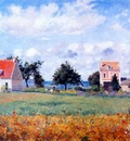 pissarro the red house