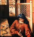 Campin Robert St Joseph Portrayed As A Medieval Carpenter