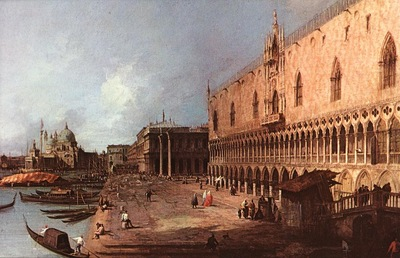 CANALETTO Doge Palace