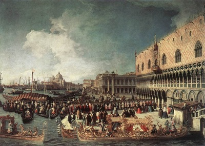 CANALETTO Reception Of The Ambassador In The Doges Palace