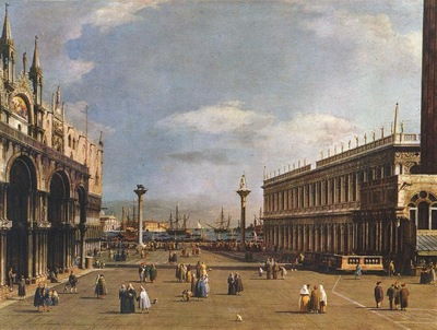 Canaletto The Piazzetta