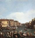 CANALETTO A Regatta On The Grand Canal