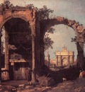 CANALETTO Capriccio Ruins And Classic Buildings
