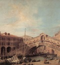 CANALETTO Grand Canal The Rialto Bridge From The South