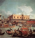 CANALETTO The Bucintoro Returning To The Molo On Ascension Day