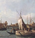 Canaletto La punta della Dogana Custom Point