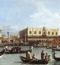 Canaletto Return of the Bucentaurn to the Molo on Ascension Day
