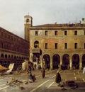 Canaletto The Campo di Rialto, ca 1758 63, 119x186 cm, Gemal