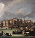 Canaletto The Grand Canal with the Rialto Bridge in the Background