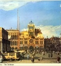 Republica SWD 006 Canaletto Piazza San Marco Clocktower
