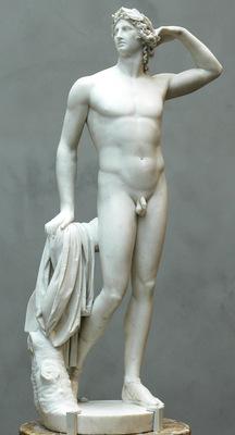 Canova Antonio Apollo crowing himself