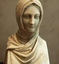 Canova Antonio Bust of a Vestal Virgin