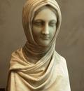 Canova Antonio Bust of a Vestal Virgin
