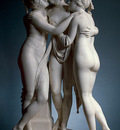 canova antonio the three graces 1813
