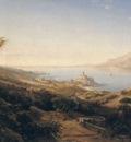 A View of Castello Malcesine Lake Garda Italy