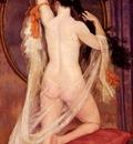 Caro Delvaille Henry Nu Au Miroir