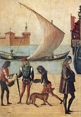 Carpaccio Arrival of the English Ambassadors detail5