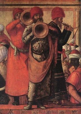 Carpaccio The Baptism of the Selenites detail1