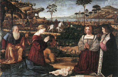 Holy Family with Two Donors WGA