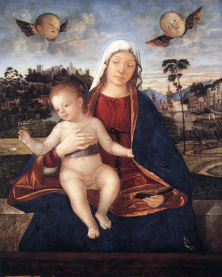 Madonna and Blessing Child WGA