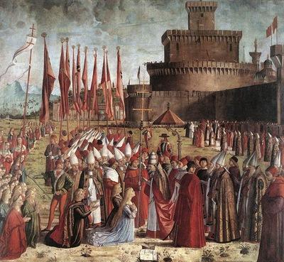 The Pilgrims Meet the Pope WGA