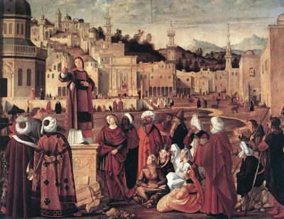 The Sermon of St Stephen WGA