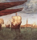 Carpaccio The Lion of St Mark detail2