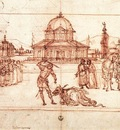 Carpaccio The Triumph of St George drawing