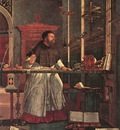 Carpaccio Vision of St Augustin detail1