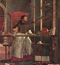 Carpaccio Vision of St Augustin detail1