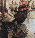 The Arrival of the Pilgrims in Cologne detail WGA