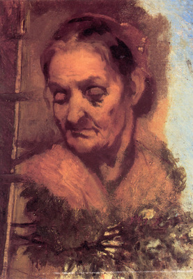 Carpeaux Pportrait of an old woman
