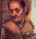 Carpeaux Pportrait of an old woman