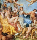 Carracci Annibale Triumph of Bacchus and Ariadne Sun