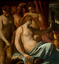 carracci venus adorned by the graces, 1590 1595, 133x170 5