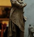 Carrier Belleuse Albert Ernest Model to a Monument to Alexandre Dumas