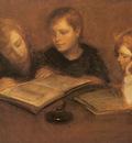 Carriere Eugene Girls Reading