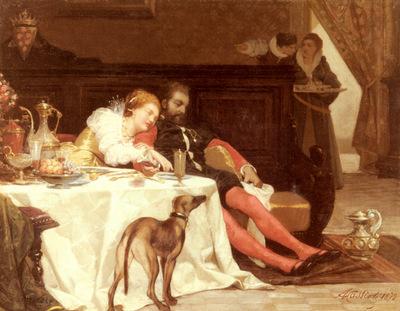 Cassioli Amos La Morte Di Bianca Capella